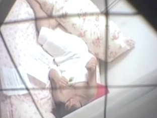 Japan girl spied masturbating pussy on the big bed dvd TO-0873 99