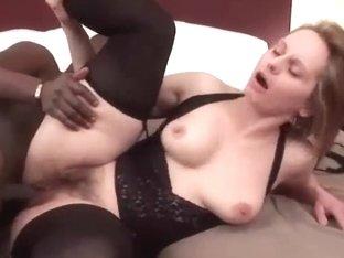 Big ass MILF gets nailed hard