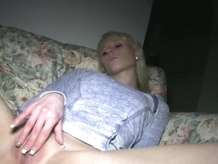 PublicAgent: Blonde Laura's ass gets covered in my cum