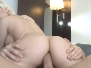 A hot sweetheart fucking by the booty anew cuz this babe desires her little arse broken
