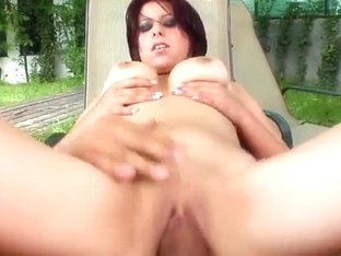 Valentina is a sexy newcomer with a big set of natural breasts.