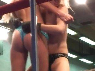 NudeFightClub with Laura Crystal, Michelle Moist