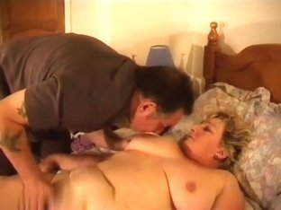 Massaging her big fat body