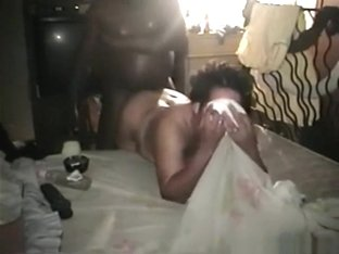Black girl says 'oh yes, take me now' and gets doggystyle fucked !!!