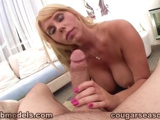 Exotic pornstar Karen Fisher in Fabulous Swallow, MILF porn movie