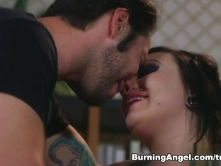 Exotic pornstars Tommy Pistol, Scarlet LaVey in Amazing Emo, Stockings adult video