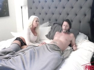 Blake Valentine in Sneaky And Sleepy Step Sex