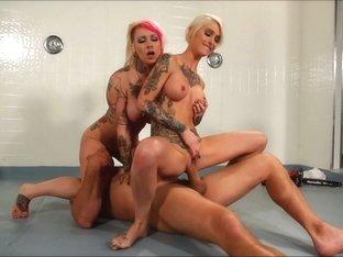 Hottest pornstar Ryan Keely in Crazy Lesbian, Reality xxx clip