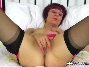 Exotic pornstars Alice White, Alice Whyte, Penny Brooks in Best Stockings, Mature sex scene
