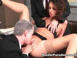 Exotic pornstar in Fabulous Threesomes, Hardcore sex video