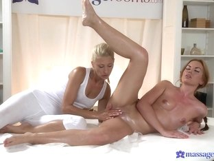 Crazy pornstars Stella Del Mar, Uma in Best Fingering, Massage porn scene