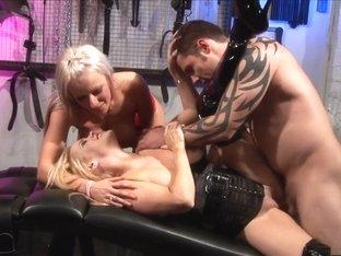Hottest pornstars Alicia Rhodes and Charlee Chase in fabulous european, masturbation adult scene