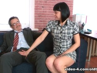 Fabulous pornstars in Incredible College, Brunette adult movie