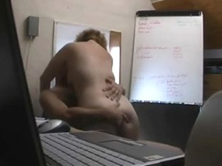 A Bit of Naughty Fun in a British Office