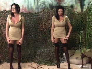 Best pornstars Kit Lee and Kat Lee in crazy threesome, outdoor xxx video