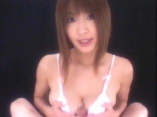 Exotic Japanese girl Ai Kurosawa in Incredible POV, Handjobs JAV clip