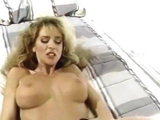 Classic strap - on sex scene