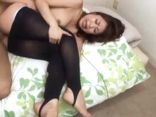 Fabulous Japanese girl Sae Aihara in Amazing Blowjob/Fera, Stockings/Pansuto JAV clip