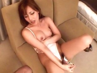 Amazing Japanese slut in Hottest Dildos/Toys, Doggy Style JAV movie