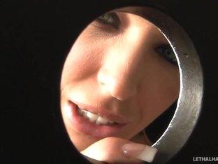 Horny pornstar Jenna Presley in Crazy Glory Hole, Facial porn scene