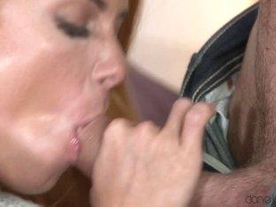 Incredible pornstars Luke, Chrissy Fox in Best Cumshots, Redhead porn video