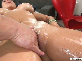 Missy's deep massage