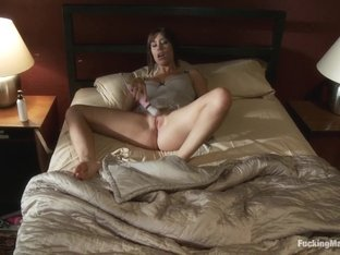 Fabulous fetish adult clip with incredible pornstar Sasha Sweet from Fuckingmachines