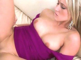 Naughty girl feels cock into juicy holes