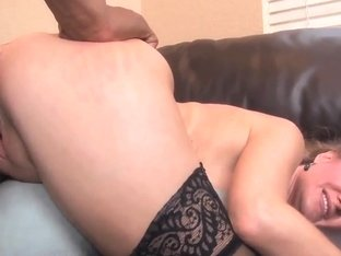 Sara James is relaxing with her black lover
