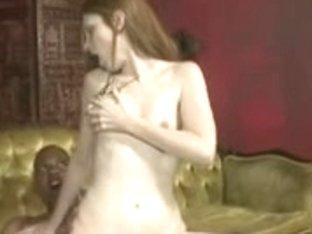 Astounding Slim Pale Redhead Hosed By Monster Schlong
