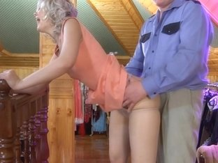 PantyhoseJobs Movie: Mary A and Jack A