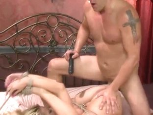 tied blond fucked 1 of 2