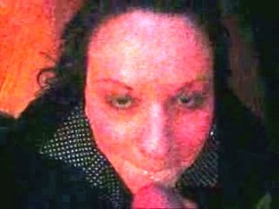 semen sabbering girl