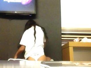 My black girlfriend in underwear