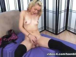 Exotic pornstars Georgia Peach, Daisy Dylan in Fabulous Masturbation, Stockings porn clip