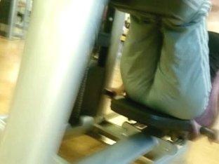 Cameltoe Gym Slowmotion