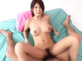 Horny Japanese model Azumi Harusaki in Crazy Cunnilingus, Big Tits JAV video