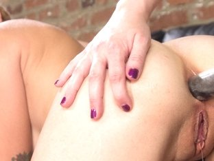 Crazy fetish, anal xxx movie with exotic pornstars Missy Minks and Cherry Torn from Whippedass