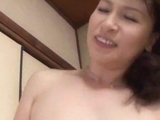 Mature Japanese seductress Yuuri Saejima fucks sexy guy