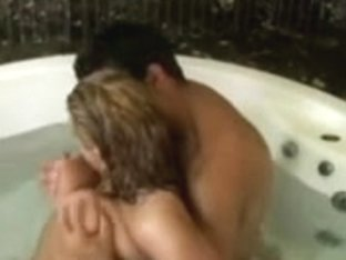Vagina Licked at the Jacuzzi