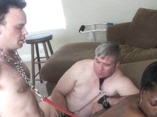 BlackGirlsWhiteSlaves: The Cuck Licks It Up