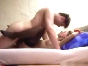 Couple doggystyle and missionary sex in the bedroom