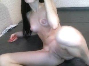 A beautiful German fucking with her boyfriend .