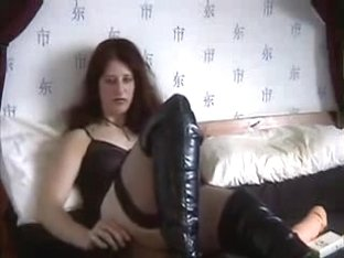 Hot gothic masturbation by my wife