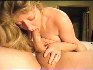Deepthroat Debbie gets oral creampie
