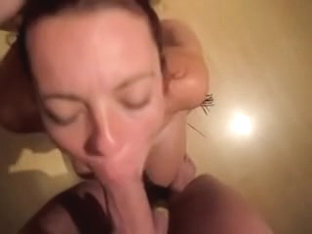 Dutch shirley handcuffed fucked and eating cum
