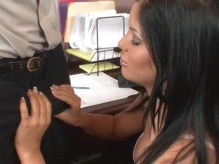 Fabulous pornstar in crazy ebony, blowjob adult clip