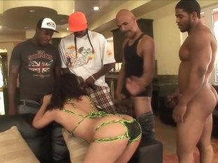 Incredible pornstar Angelica Raven in hottest brunette, big tits porn clip