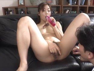 Mizuki Kusakari in Married to Euphoric Anal Slave part 3