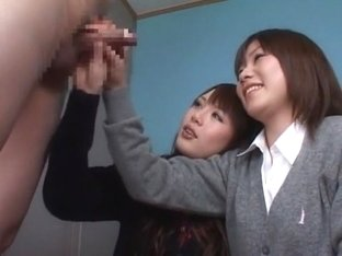 Fabulous Japanese model Rui Yazawa, Ruka Namiki, Anju Himeno in Incredible Threesomes, Cumshots JA.